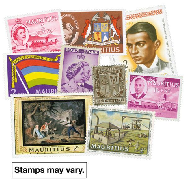 Mauritius, 25 stamps