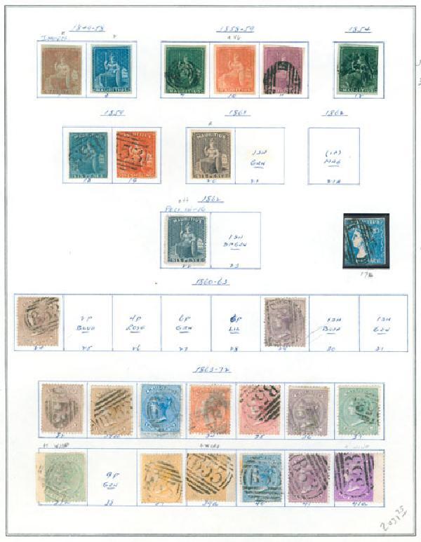 1849-72 Mauritius