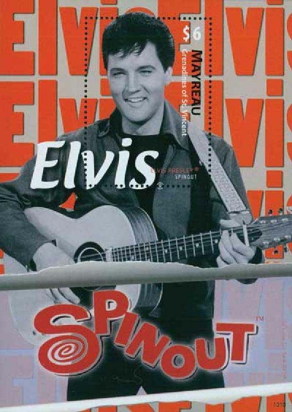 2010 Mayreau Elvis 'Spinout' 1v Mint