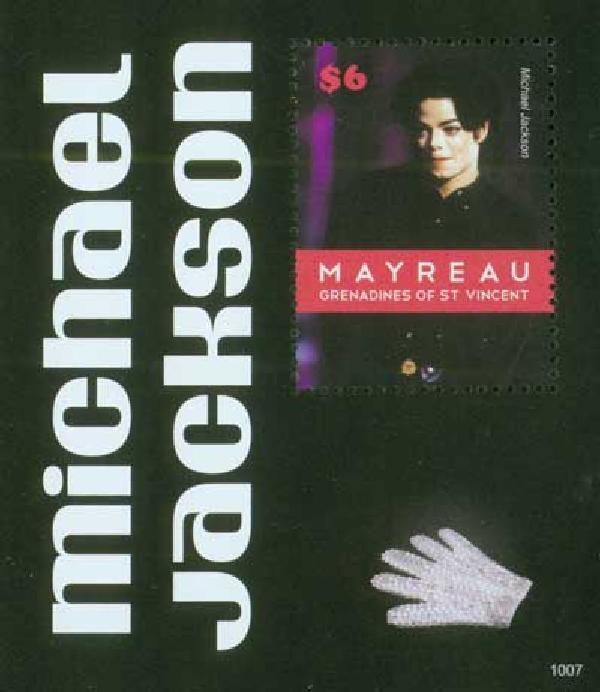 2010 Mayreau Michael Jackson 1v Mint