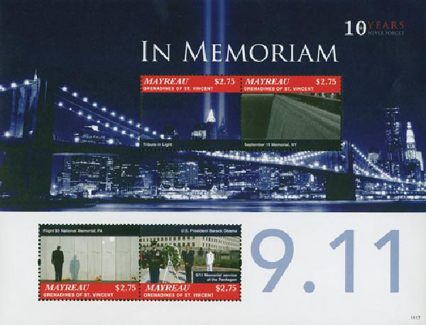Item #M10964 was issued for the 10th anniversary of the attacks.