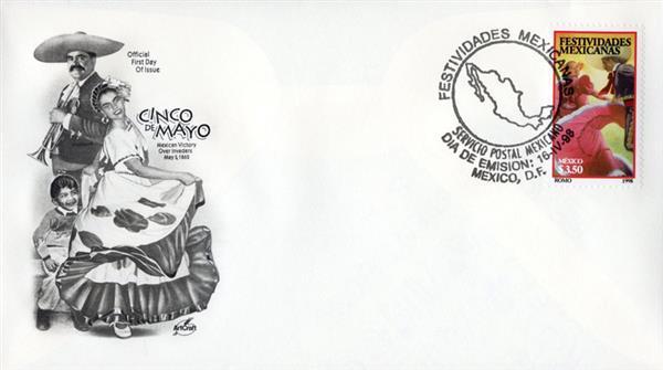 1998 Mexico #2066 - Cinco de Mayo