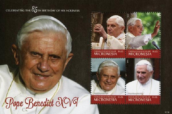 2012 Micronesia Pope Benedict 85th bday
