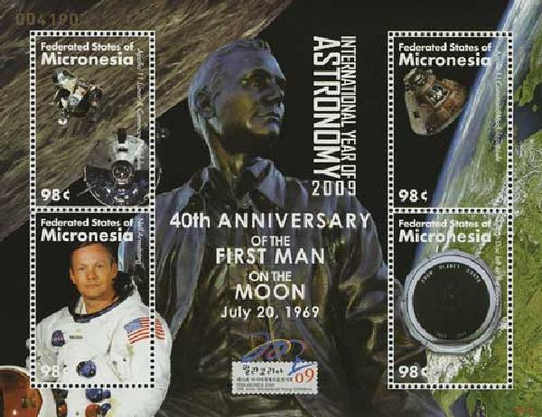 2009 40th Anniversary First Man on the Moon