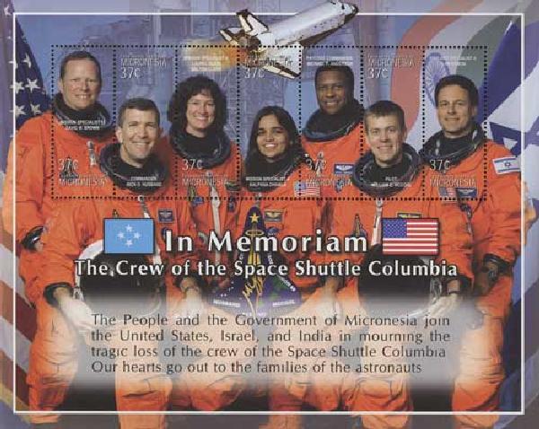 2003 Micronesia In Memorium Columbia