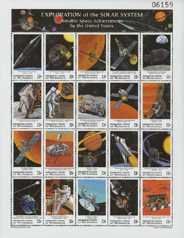 1999 Micronesia Exploration Solar System