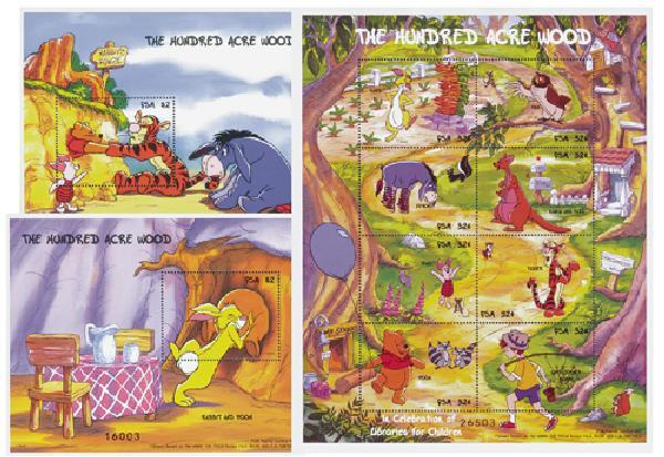 Micronesia 1998 'Winnie the Pooh'