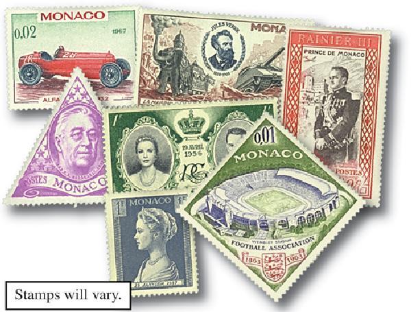 Monaco, set of 50