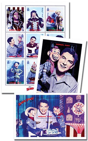 Howdy Doody Collection 1 Sheet, 2 S/S