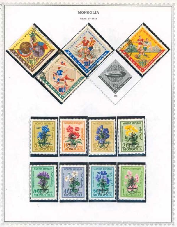 1932-1995 Mongolia