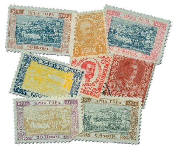 Montenegro set of 25