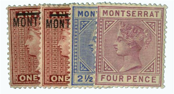 1876-85 Montserrat