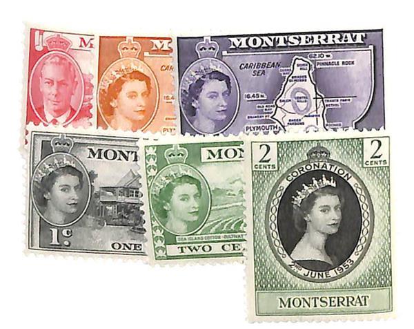 1951-56 Montserrat