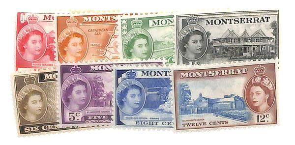 1953-55 Montserrat
