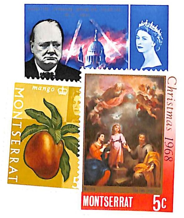1965-68 Montserrat