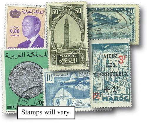Morocco, set of 100