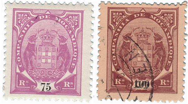 1895-1907 Mozambique Company