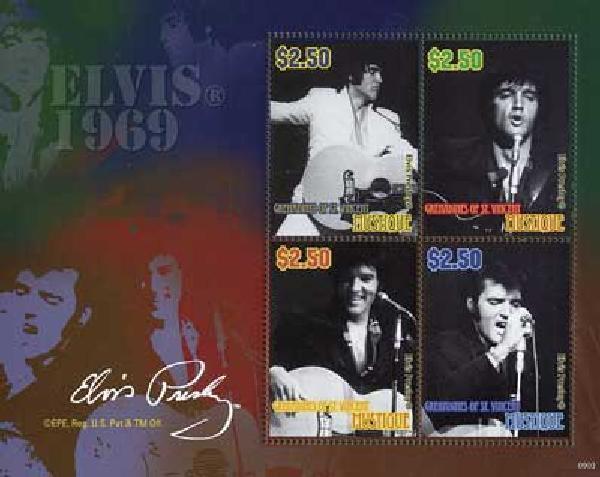 2010 Mustique Elvis 4v M