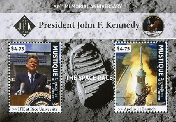 2013 Mustique JFK 50th Mem Anniversary