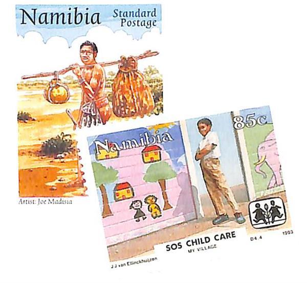 1993-97 Namibia