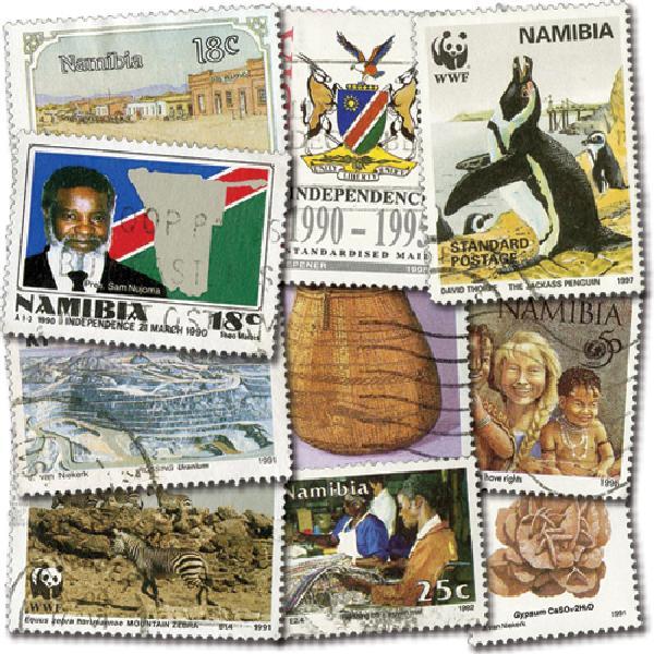 Namibia, 50v