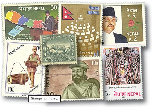 Nepal, set of 100
