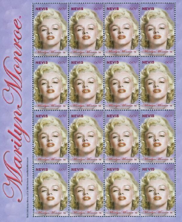 2004 Nevis Marilyn Monroe 16v