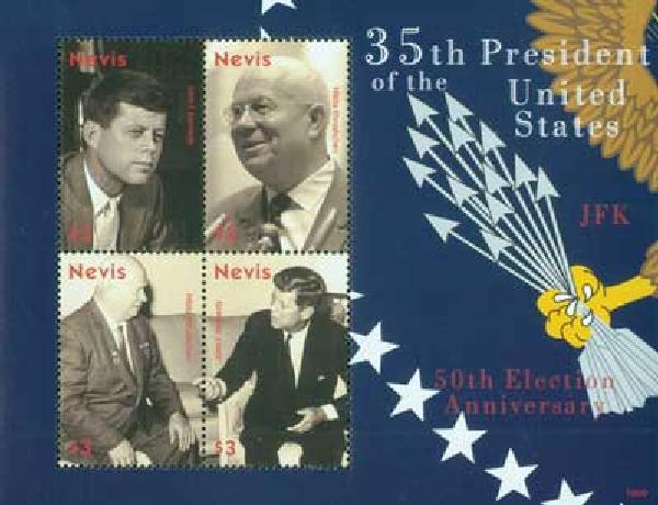 2010 Nevis Kennedy & Krushchev 4V M