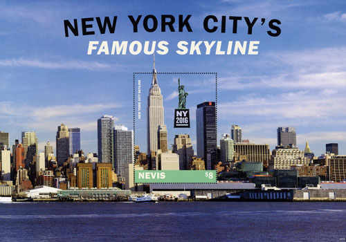 2016 New York Citys Famous Skyline