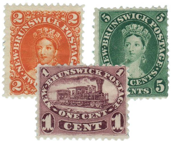 1860-63 New Brunswick