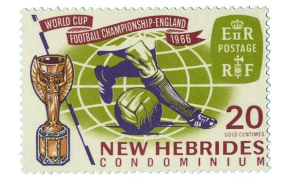 1966 New Hebrides, British