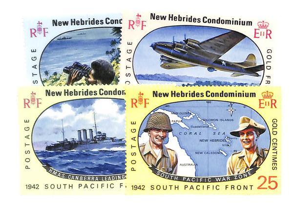 1967 New Hebrides, British