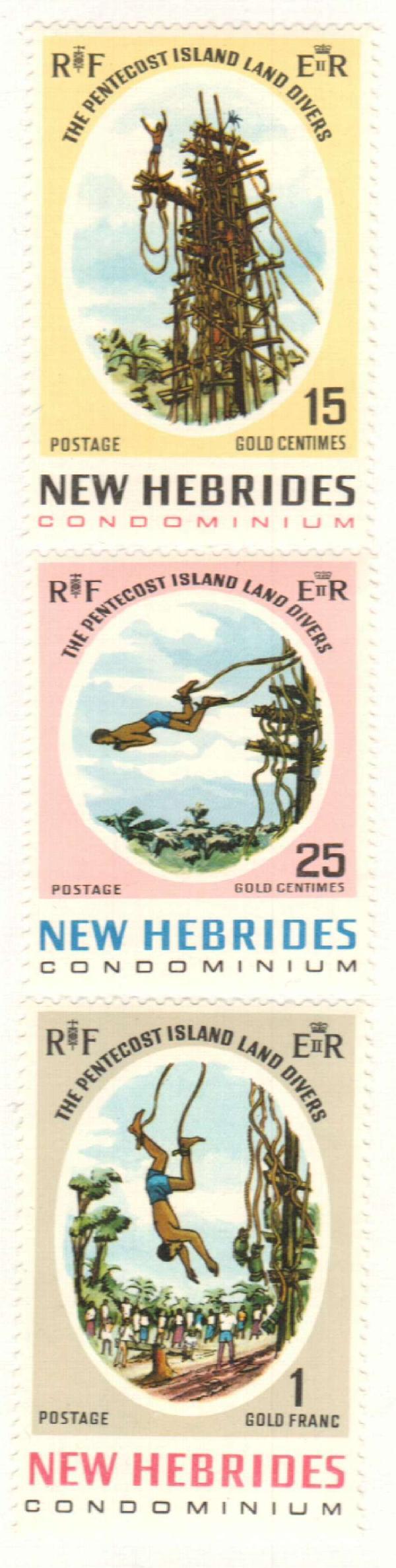 1969 New Hebrides, British