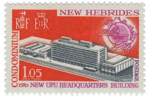 1970 New Hebrides, British