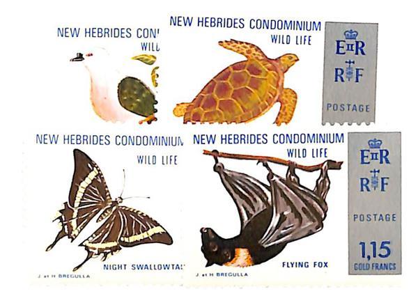 1974 New Hebrides, British