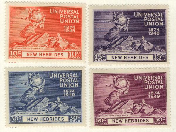 1949 New Hebrides, British