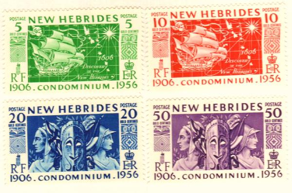 1956 New Hebrides, British