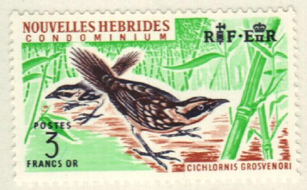 1965 New Hebrides, French