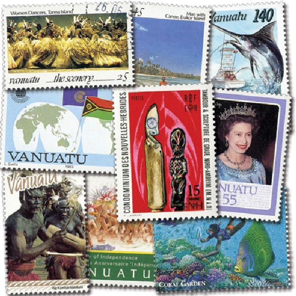New Hebrides & Vanuatu, 50v