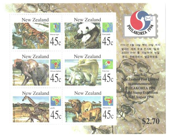 1994 New Zealand