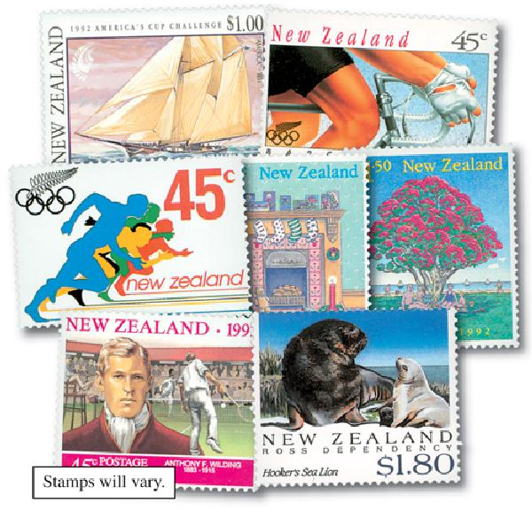 New Zealand, set of 300