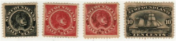1887-96 Newfoundland