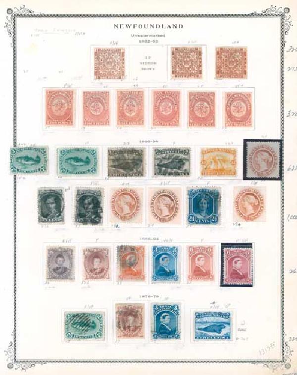 1862-79 Newfoundland