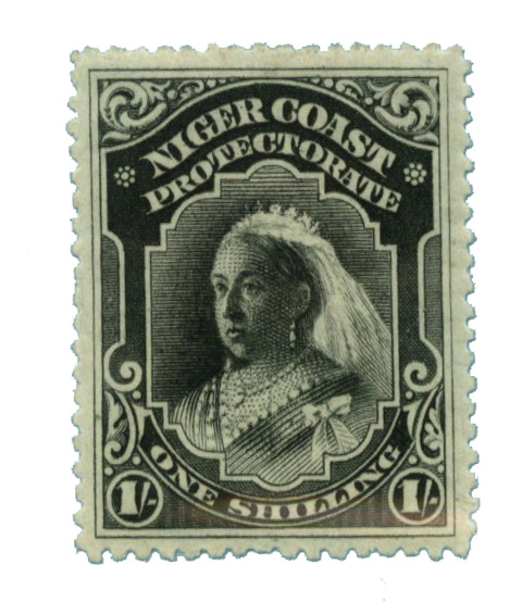 1894 Niger Coast Protectorate