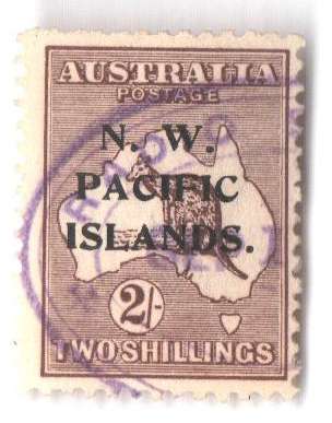 1918 North West Pacific Islands
