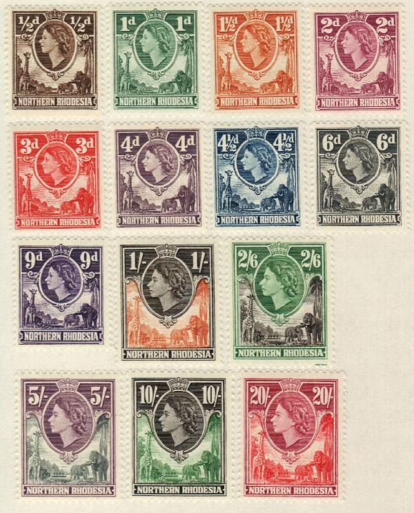1953 Northern Rhodesia