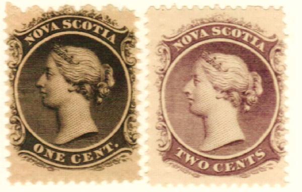 1860-63 Nova Scotia
