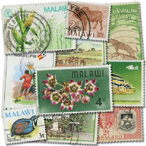 Nyasaland & Malawi, 50v