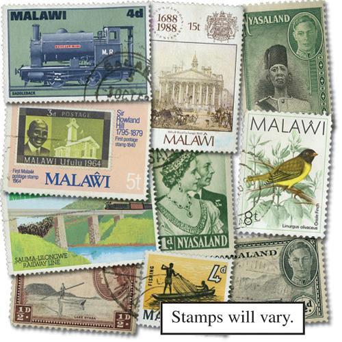 Nyasaland & Malawi, 600v