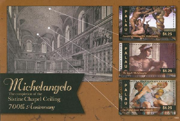 2012 Palau Michelangelo Sistine Chapel
